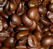 Coffee Beans - Dark Roast Sticker