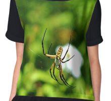 Writing Spider Chiffon Top