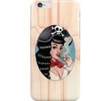 Pirate chick iPhone Case/Skin