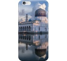 Kota Kinabalu mosque iPhone Case/Skin