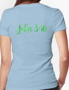 Bible Verse Womens Fitted T-Shirt