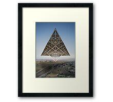 Kosmische Reisende 2 Framed Print