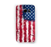 American Flag - Grunge Samsung Galaxy Case/Skin
