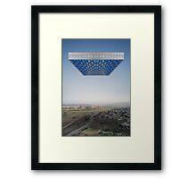 Kosmische Reisende 3 Framed Print
