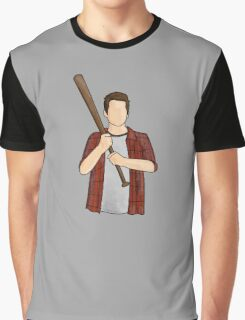 Stiles Stilinski / Dylan O'Brien / Teen Wolf / Baseball Bat Graphic T-Shirt