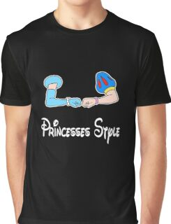 Bro-fist Princesses Style Graphic T-Shirt