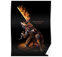 Abyss Watcher embered Poster