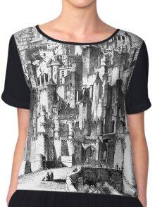 The Castle of Gormenghast Chiffon Top