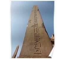 Obelisk at Karnak Poster