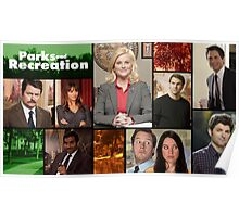 Parks and Recreation Cover Art Poster