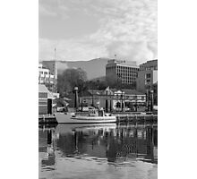 Winter, Constitution Dock, Hobart Photographic Print