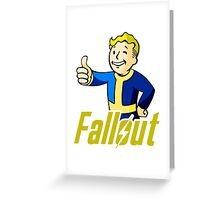 Fallout 2 Greeting Card