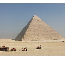 Pyramid at Giza Photographic Print