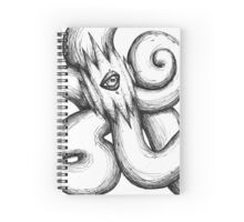 A Foreign Sun Spiral Notebook