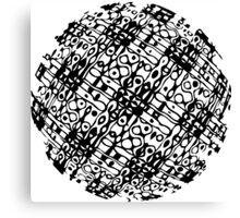 Hologram Pop Art Sphere Canvas Print
