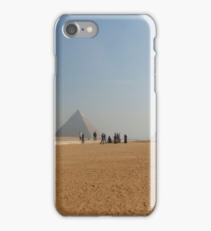 Pyramids at Giza iPhone Case/Skin