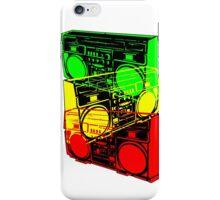 Ghetto Blaster Trio Design iPhone Case/Skin