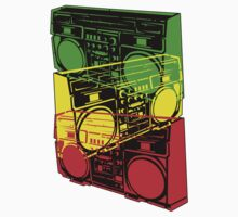 Ghetto Blaster Trio Design by UncleHenry