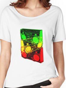 Ghetto Blaster Trio Design Women's Relaxed Fit T-Shirt