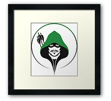 Green Arrow Products Framed Print