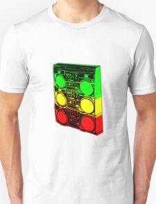 Ghetto Blasta Stack Unisex T-Shirt