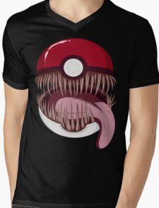 Mimic Ball Mens V-Neck T-Shirt