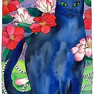 Elizabet's Camellias - Russian Blue by TangerineMeg