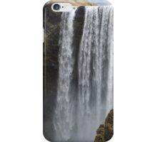 Skógafoss waterfall in Iceland iPhone Case/Skin