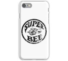 Super Bee Design (distressed version) iPhone Case/Skin