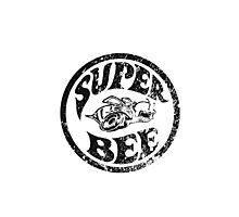 Super Bee Design (distressed version) Photographic Print