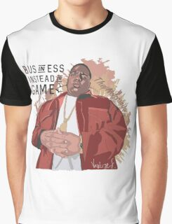 biggie smalls B.I.G. rEP STAR Graphic T-Shirt
