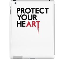 Protect Your He(art) iPad Case/Skin