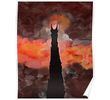The Tower of Sauron Poster