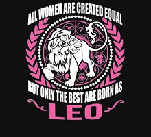 The Best Women Are Born in Leo Womens Fitted T-Shirt