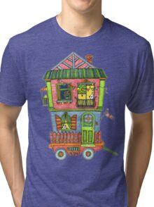 Home is where the heart is... so take it with you if you can! Tri-blend T-Shirt