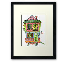 Home is where the heart is... so take it with you if you can! Framed Print