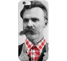 Hipster Nietzsche iPhone Case/Skin