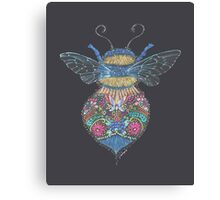 Bee Totem Canvas Print