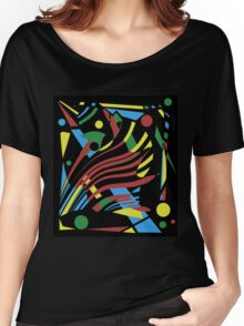 Crazy abstraction Women's Relaxed Fit T-Shirt
