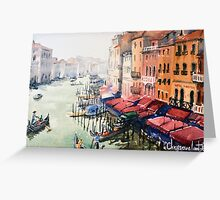 Grand Canal, Venice Greeting Card