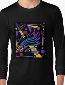 Crazy abstraction Long Sleeve T-Shirt