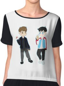 pokémon trainers d&p Chiffon Top