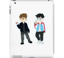 pokémon trainers d&p iPad Case/Skin
