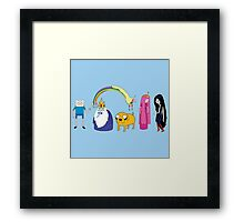 Adventure pattern Framed Print
