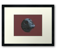 Death Star Framed Print