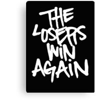 yelawolf - the losers win again Canvas Print