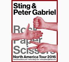 Peter Gabriel Sting Rock Paper Scissors 1 Unisex T-Shirt