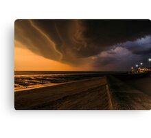 Approaching storm looking the other way Canvas Print