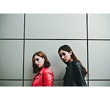 two Fashion woman Photographic Print