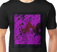 USGS TOPO Map Alaska AK Mount McKinley D-5 357813 1953 63360 Inverted Unisex T-Shirt